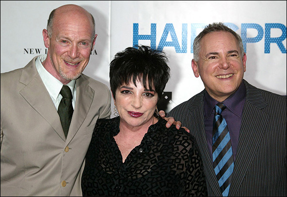 Neil Meron, Liza Minnelli and Craig Zadan