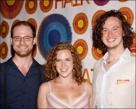 Steve Mulick, Molly Thomas and Tripp Fountain