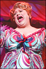 Harvey Fierstein in <I>Hairspray</i>.