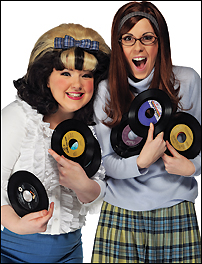 Leanne Jones and Verity Rushworth in <I>Hairspray</I>.