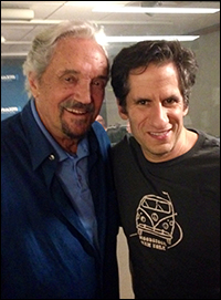 Seth with Hal Linden