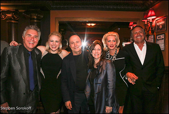 Steve Tyrell, Haley Swindal, Billy Crystal, Janis Crystal, Jennifer Steinbrenner Swindal, Hank Swindal