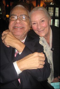 Earle Hyman and Rosemary Harris