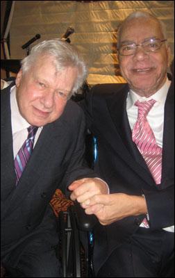 Brian Murray and Earle Hyman