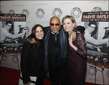 Dori Berinstein, Quincy Jones and Terre Blair Hamlisch
