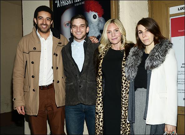Kobi Libii, Evan Jonigkeit, Aleque Reid and Zosia Mamet