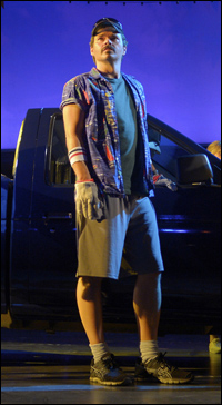 Hunter Foster in <i>Hands on a Hardbody</i>.
