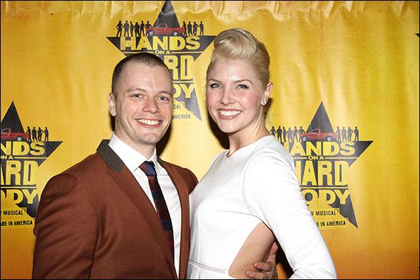 David Larsen and Amanda Kloots-Larsen
