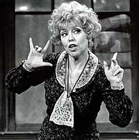 Dorothy Loudon as Miss Hannigan in <i>Annie</i>