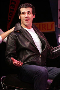 Joey Sorge as Fonzie.