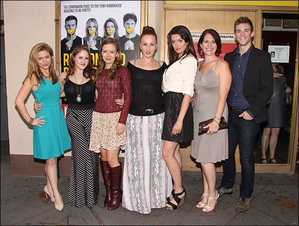 Christy Altomare, Blair Goldberg, Molly Ranson, Jeanna de Waal, Mackenzie Bell, Anne Tolpegin and Jake Boyd