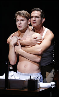 Randy Harrison and Paul Anthony Stewart