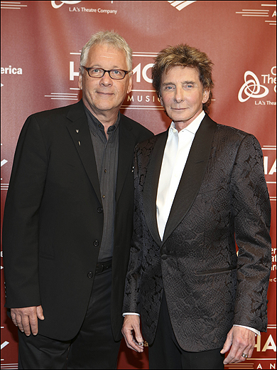 Book and Lyrics Writer Bruce Sussman and Composer Barry Manilow