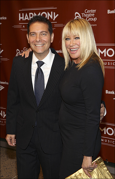 Michael Feinstein and Suzanne Somers