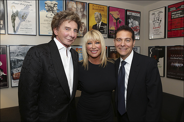 Barry Manilow, Suzanne Somers and Michael Feinstein