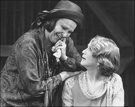 Geraldine Page and Julie Harris in Mixed Couples, 1980