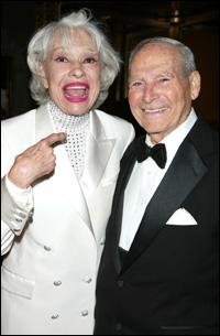 Carol Channing and Harry Kullijian in 2007