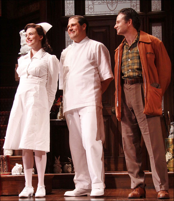 Holley Fain, Rich Sommer and Peter Benson