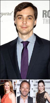 Jim Parsons; guests Rachel York, John Benjamin Hickey and Laura Osnes