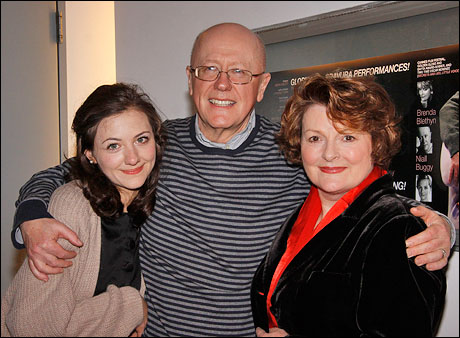 Beth Cooke, Niall Buggy and Brenda Blethyn