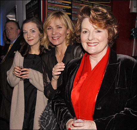 Beth Cooke, Kim Cattrall and Brenda Blethyn