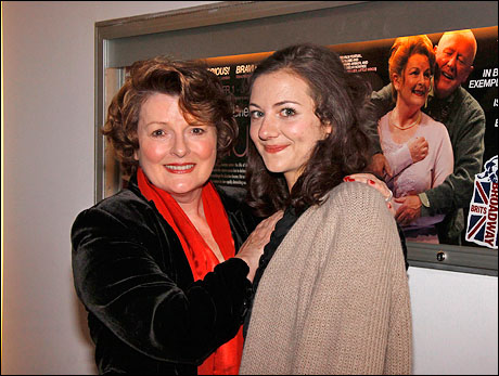 Brenda Blethyn and Beth Cooke