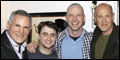 Sean Hayes Visits Daniel Radcliffe Backstage at How to Succeed