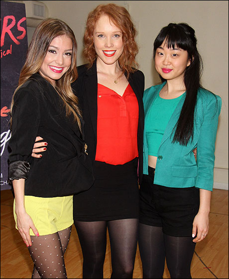 Elle McLemore, Jessica Keenan Wynn and Alice Lee