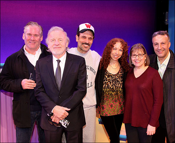 Timothy Shew, Colm Wilkinson, Anthony Crivello, Jennifer Butt, Marcie Shaw and John Norman Thomas