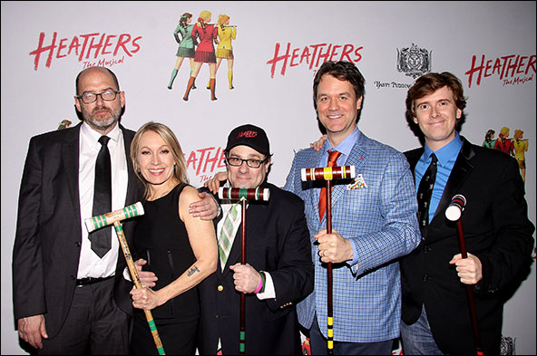 Daniel Waters, Marguerite Derricks, Andy Fickman, Kevin Murphy and Laurence O'Keefe