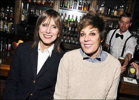 Jean Doumanian and Peggy Siegal