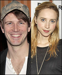 Bill Heck and Zoe Kazan