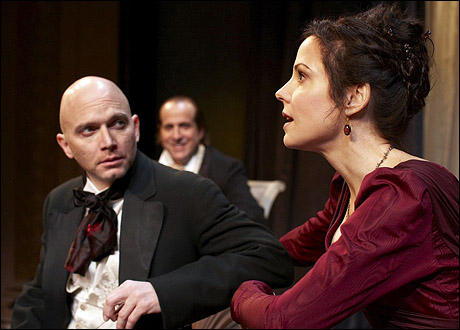 Michael Cerveris, Peter Stormare and Mary-Louise Parker
