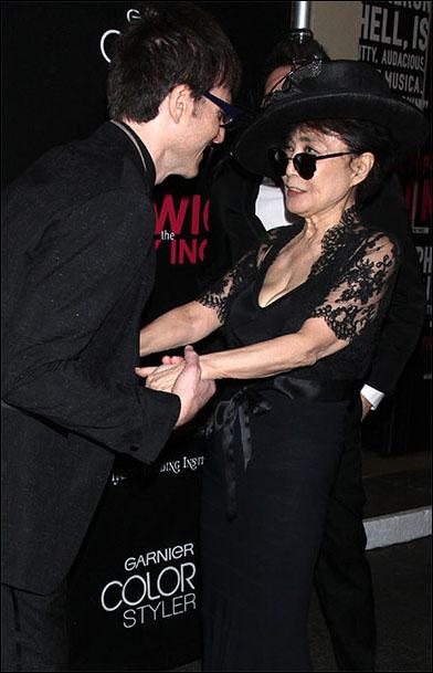 Stephen Trask and Yoko Ono
