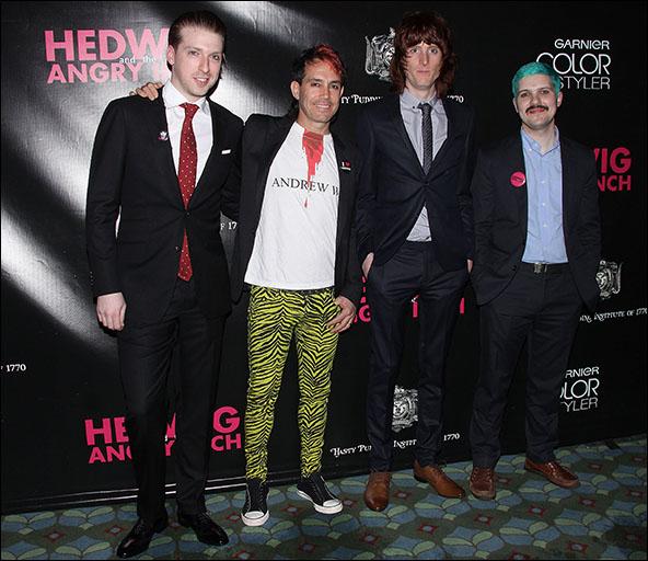 Tim Mislock, Peter Yanowitz, Justin Craig and Matt Duncan