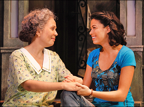 Elise Santora and Arielle Jacobs