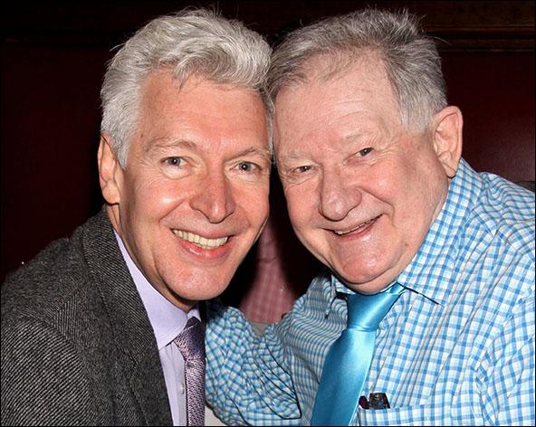 Tony Sheldon and Harvey Evans