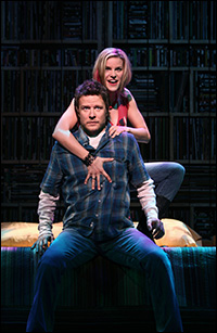 Will Chase and Jenn Colella in <i>High Fidelity</i>.