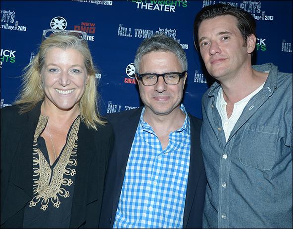 Mary McCann, Neil Pepe and Jason Butler Harner