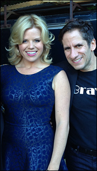 Megan Hilty and Seth