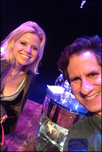 Seth with Megan Hilty