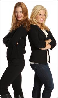 Megan Hilty and Rachel York