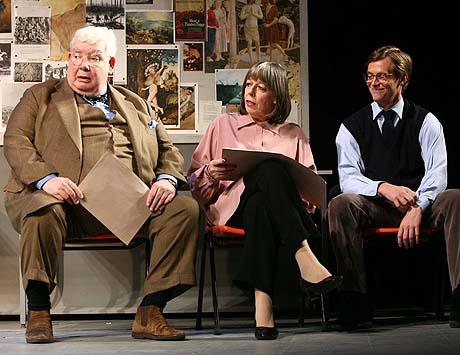 Richard Griffiths (left), Frances de la Tour and Stephen Campbell
