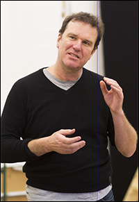 Douglas Hodge in rehearsal