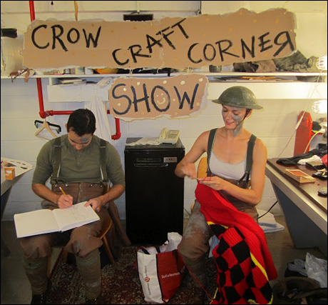 And it's my favorite time of the week… The Crow Craft Corner Show! During every Crow track, myself and my fellow horse team members, Tom Lee and Isaac, unite for some clever crafting. Our first online episode is coming soon to a YouTube channel near you!