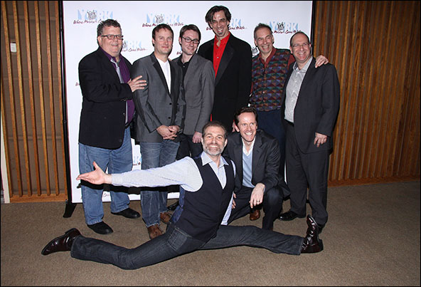 James Morgan, Michael Croiter, Timothy Splain, Ritt Henn, Andrew Levine, Marc Kudisch and Jeffry Denman