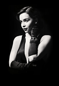 Emilia Clarke as Holly Golightly