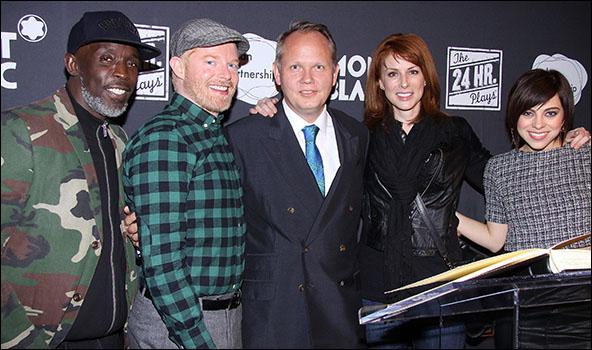 Michael K. Williams, Jesse Tyler Ferguson, Jan Patrick Schmitz, Diane Neal and Krysta Rodriguez