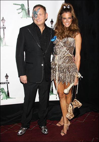 John Dempsey and Kelly Killoren Bensimon