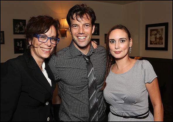 Jane Kaczmarek, Lorenzo Pisoni and Rebecca Mozo